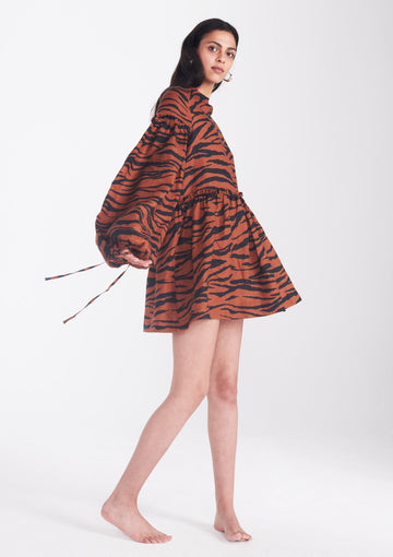 Romy Dress in Animal