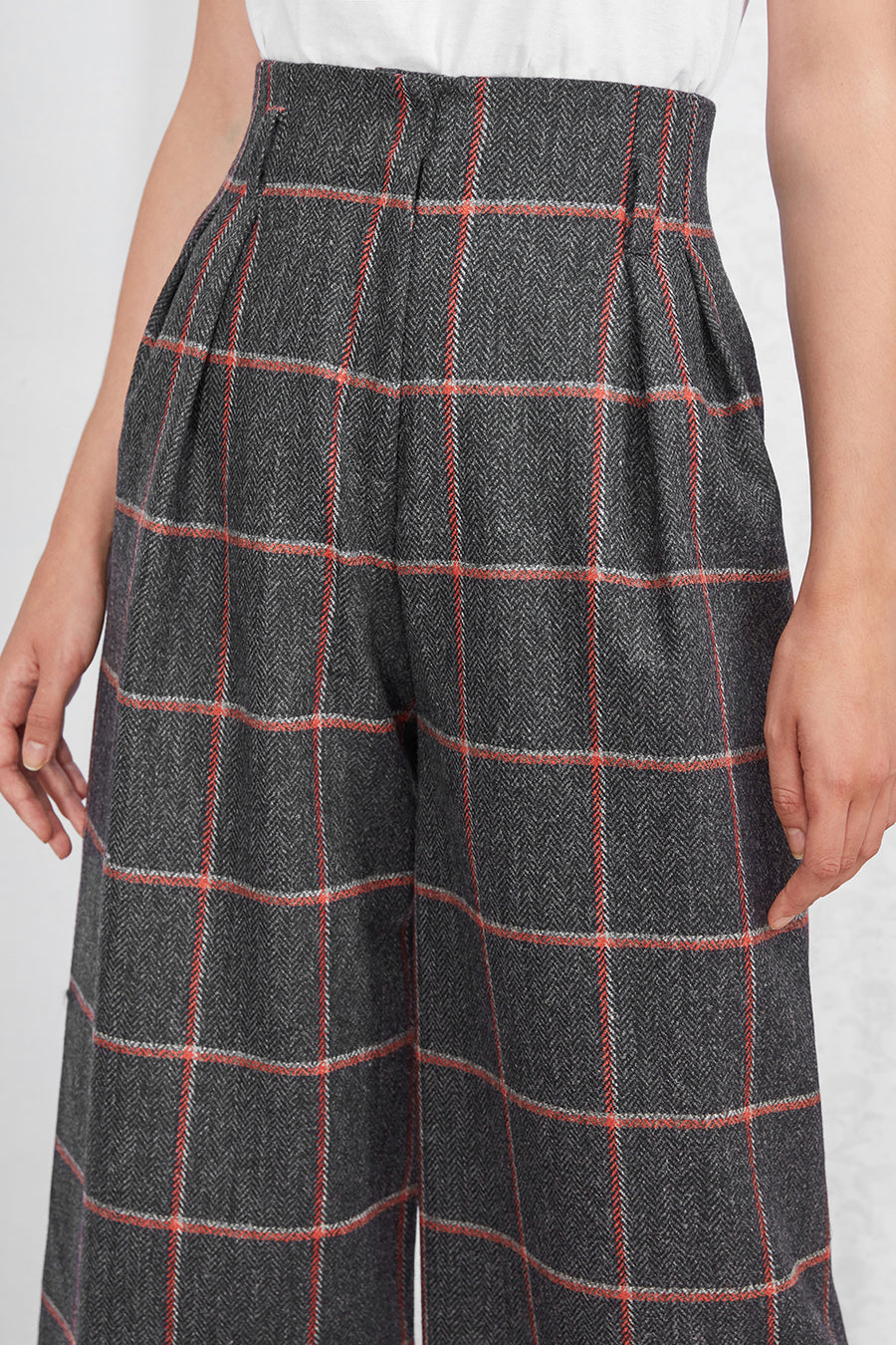 Andy Culottes in Dark Grey