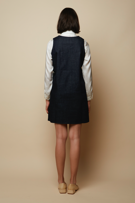 Organic Denim Eva Dress