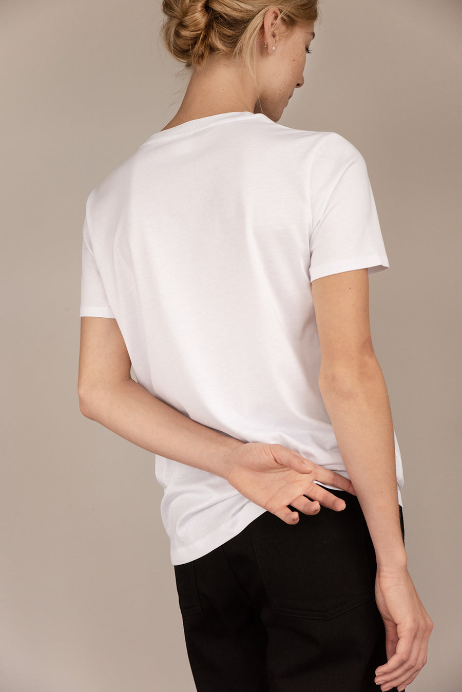 Classic Organic Cotton T-shirt in White