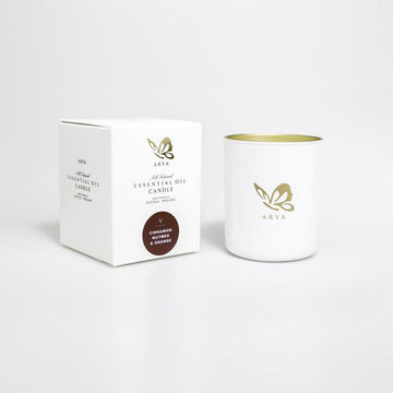 Natural Cinnamon, Nutmeg & Orange Candle