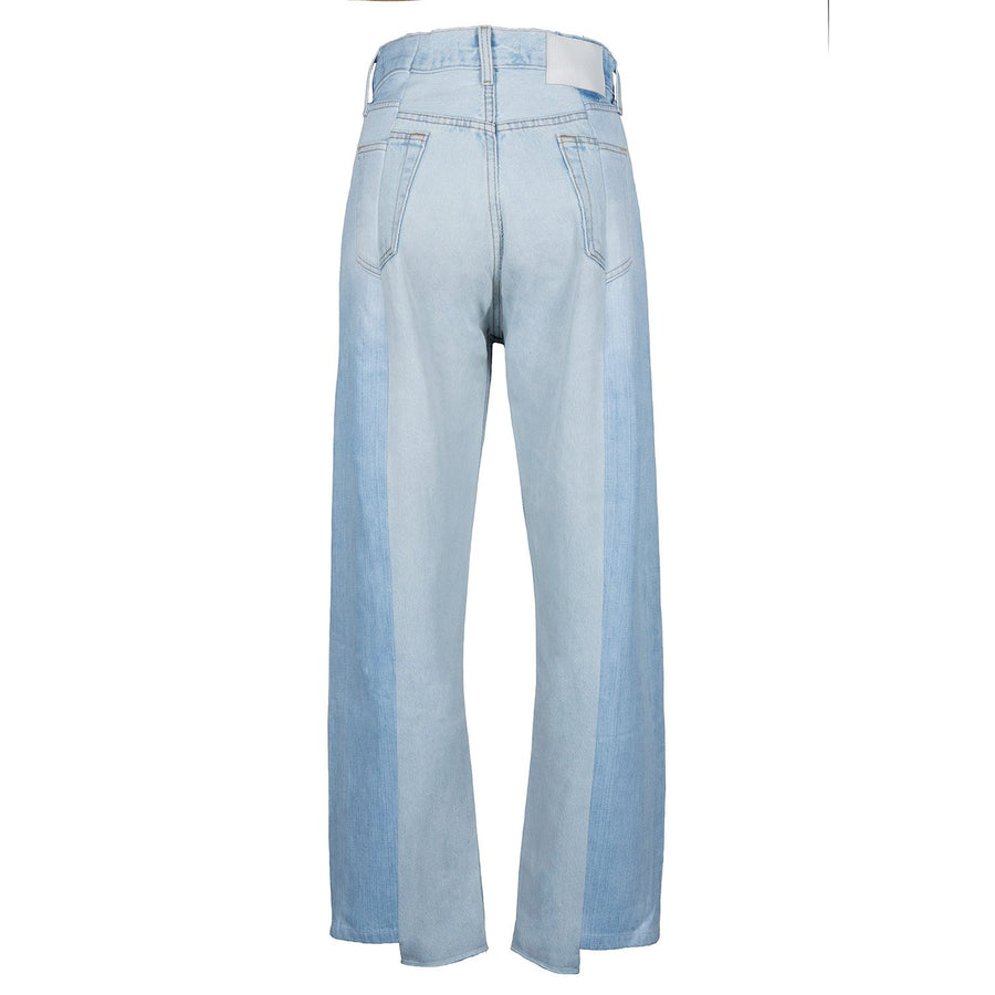 Super Light Blue Match Boyfriend Jean