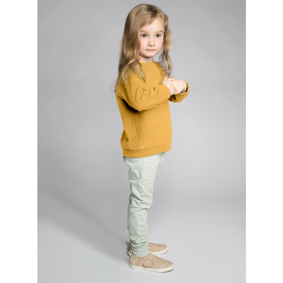 Oh-So Cosy Organic Cotton Sweatshirt in Honey Gold