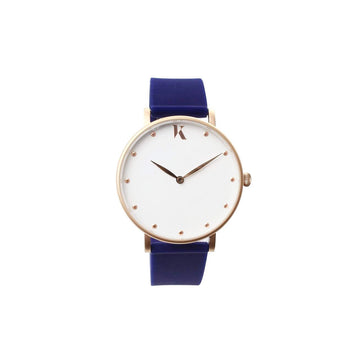 Vegan Sapphire Blue 38mm Face Watch