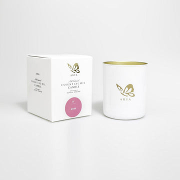 Natural Rose Candle