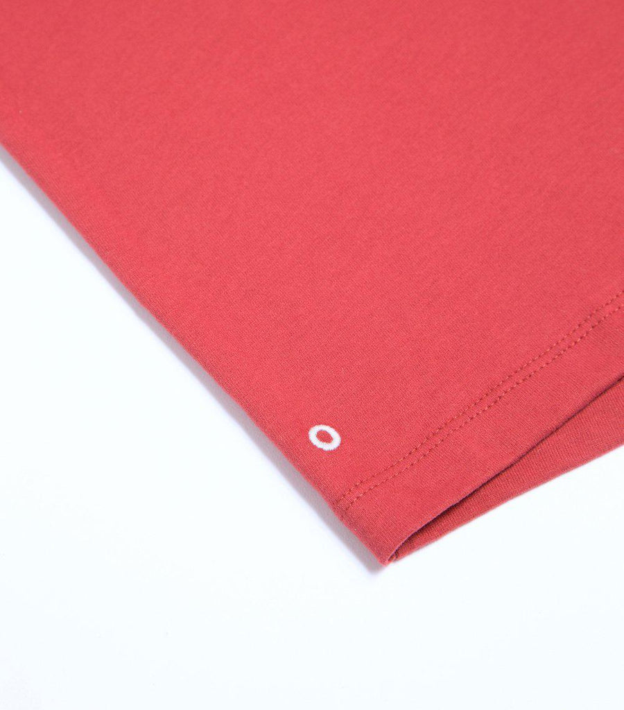 The Luxury Organic Cotton T-Shirt in Pomegranate
