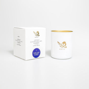 Natural Ylang Ylang, Patchouli & Neroli Candle