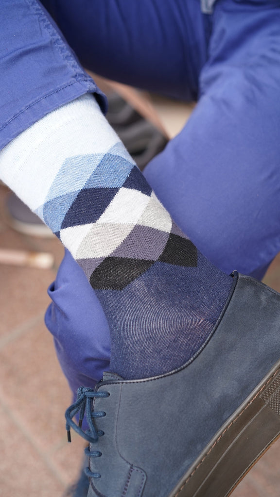 Men's Azure Mix Set Socks