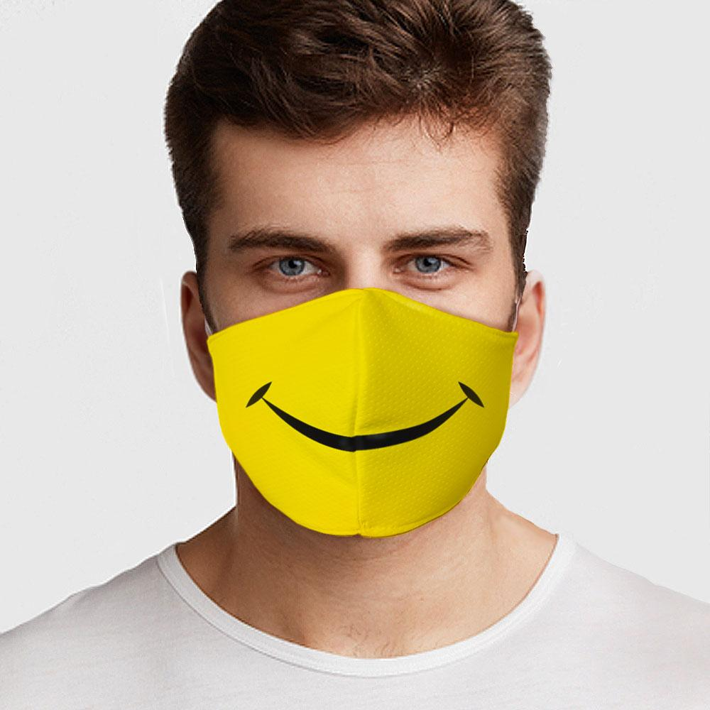 Smiley Face Face Mask