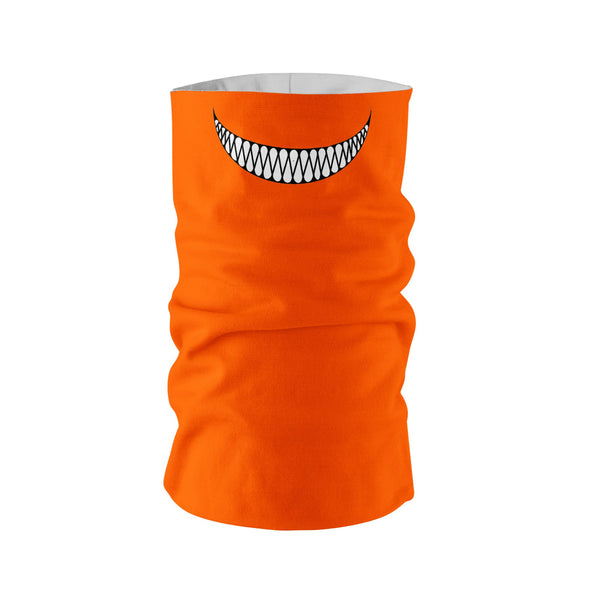 Evil Pumpkin Smile Neck Gaiter