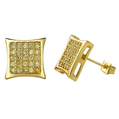 5 Row Kite Micro Pave CZ Bling Bling Earrings