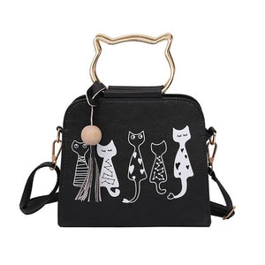 Women Messenger Bag  Handbags Cat Rabbit