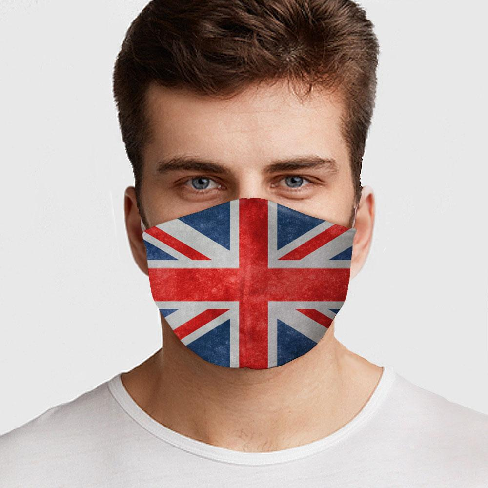 UK Flag Face Mask