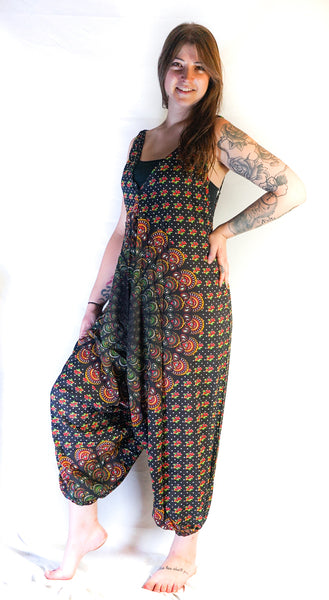 Hippie Jumpsuits, Boho Rompers, Festival Clothing