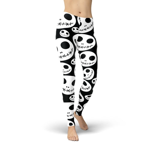 Jean Skeleton Jacks Leggings
