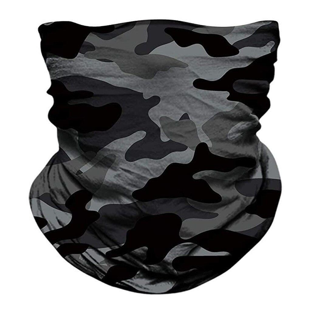 3d Camouflage Solid Bandana Buffs Neck Gaiter Headband Cycling Fishing