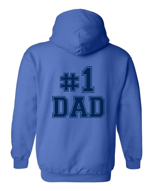 Unisex Zip-Up Hoodie You Know It They Know It We All Know It ; #1 DAD