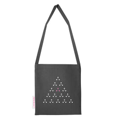 280g cotton long handle postal bag with original in house design by The Pink Triangle. LGBTQ+ clothing brand for everyone.