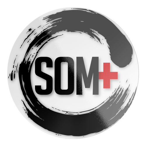SOM+C Logo Sticker