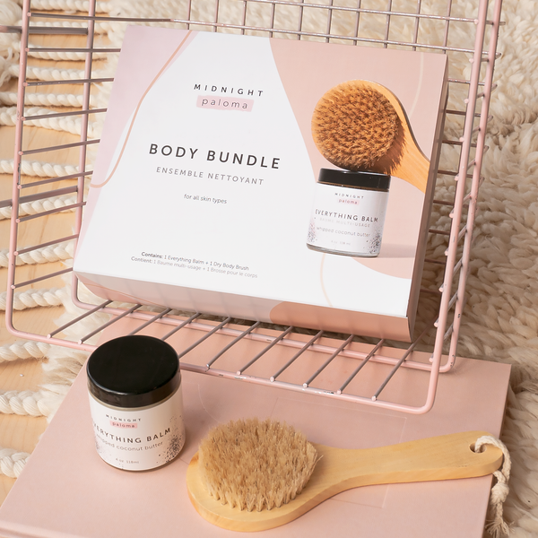 BUNDLE - EVERYTHING BALM + BODY BRUSH
