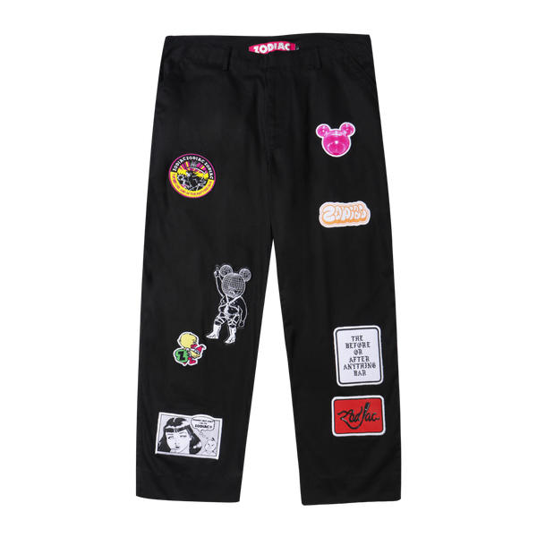 Zodiac Patch Series Pants