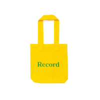Record Magazine Logo Tote Bag