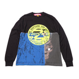 Zodiac x Buru Studio T-shirt Long Sleeve Cuts Tie Dye 54