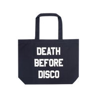 TILT Death Before Disco Record Tote Bag
