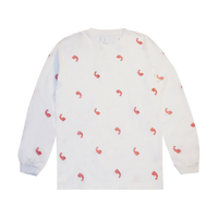 Voices Paisley Embroidery Long Sleeve T-shirt