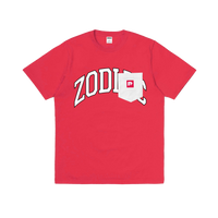 Zodiac x Pizzza Dealer College T-shirt