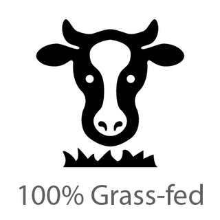 100% grass fed beef used