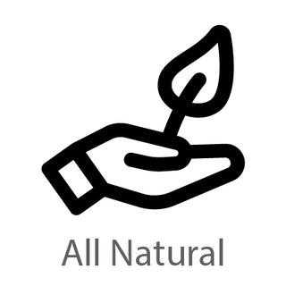All natural ingredients used
