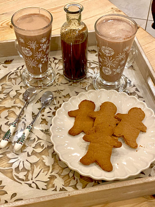 Easy Homemade Gingerbread Syrup