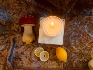 Cockerels Crow ~ Energising Natural Candle