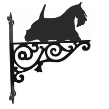 Load image into Gallery viewer, Scottish Terrier on the move Ornamental Hanging Bracket