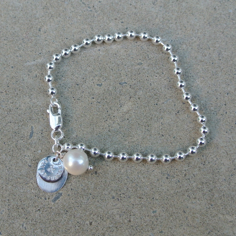 """Ball n Chain II"" Bracelet"