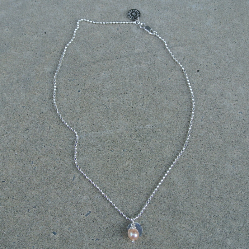 """Blush Baby"" Necklace"