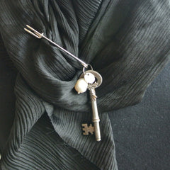 """Kilt Pin and Baroque""- Broach"