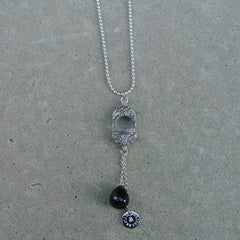 """Through the Looking Glass"" necklace"