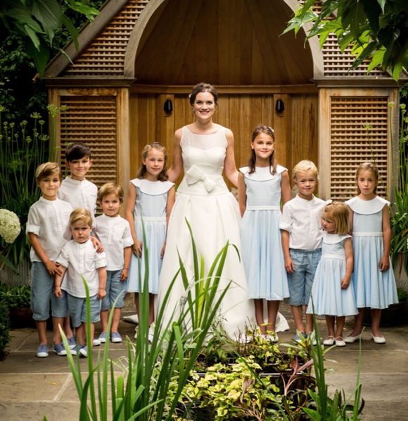 Bespoke Bridesmaid and Page Boy clothes Pipkin Clothing