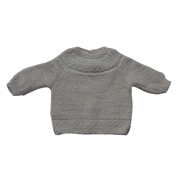 Alpaca Jumper, Yoke Neck (3-6 months)