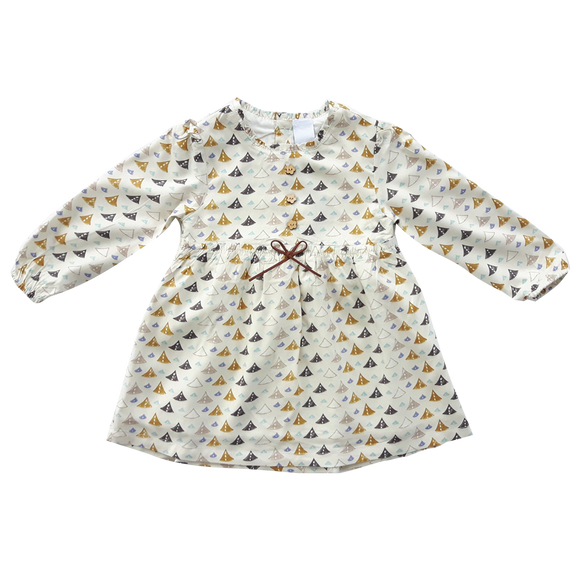 Dress, Cream Sail (3y & 6y)