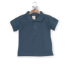 Polo Shirt, Smoke Blue (3m - 18m)