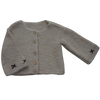 Alpaca Cardigan, Cross Stitch (3 - 4 years)
