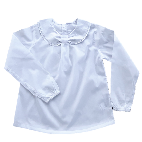 Blouse, Double Collar