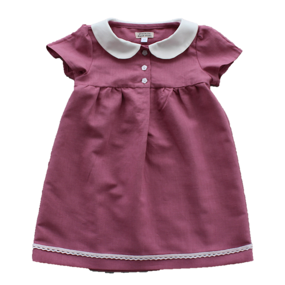 Meadow Dress, Dusty Pink (5y, 6y, 7y)