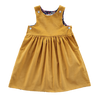 Starcross Pinafore, Gold Corduroy