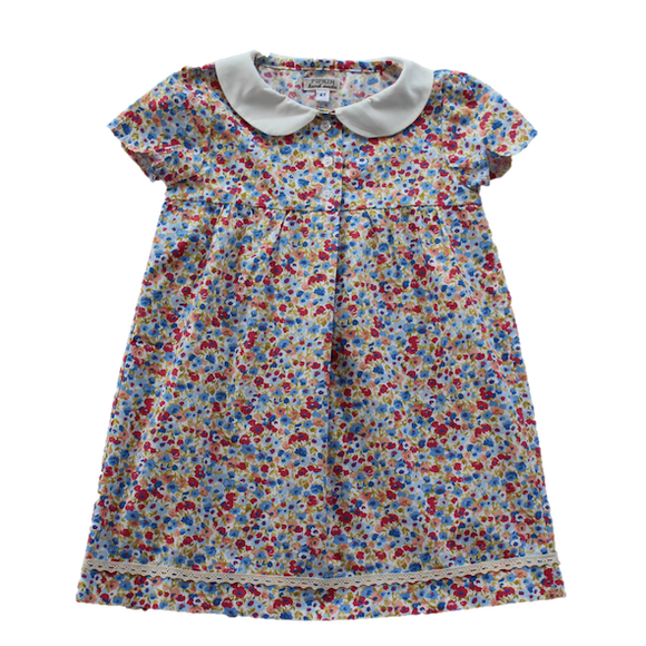 Meadow Dress, Floral (5 y - 7 y)