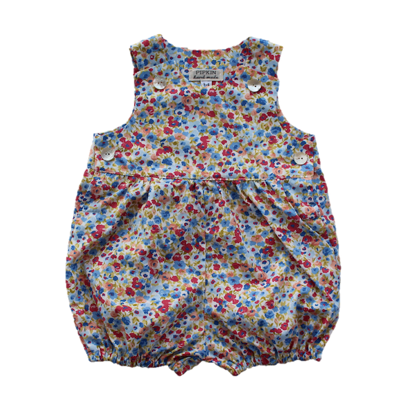 Brambley Hedge Romper, Floral (6-12, 12-18m, 2-3y)