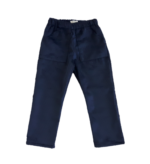Bracken Trousers, Navy Corduroy